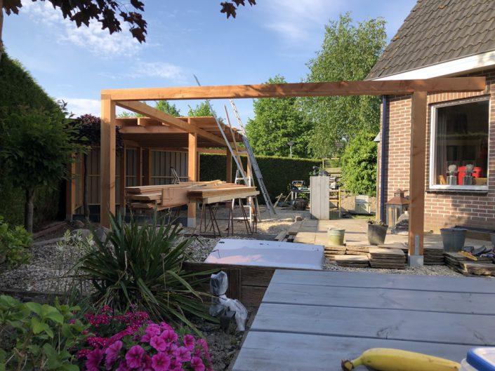 veranda terrasoverkapping achtertuin