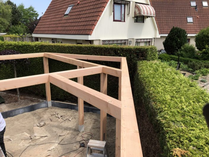terrasoverkapping tuin